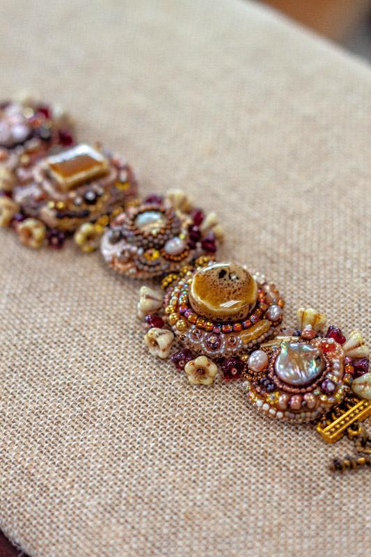 Beaded Bracelet - jewelry making equipment