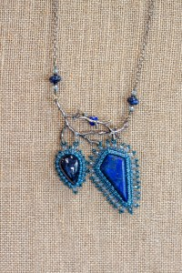 Lapis Necklace Bead shop in Texas