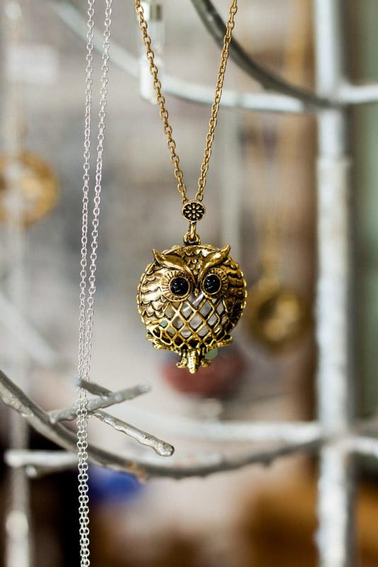 Owl Charm Jewelry making supplies Texas