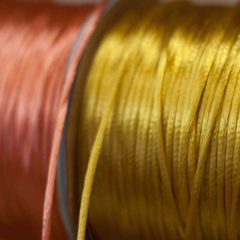 Peach and Gold Silk - Best jewelry making tools