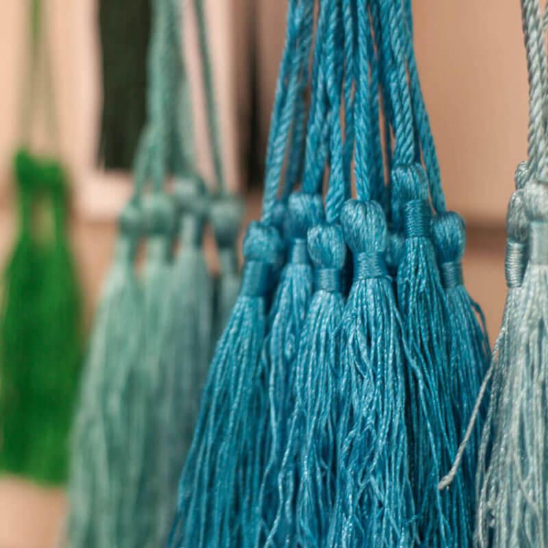 Silk Tassels - Decorative designs Austin