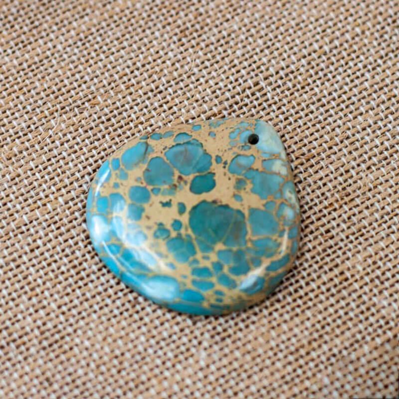 Turquoise Jasper Semi precious gem