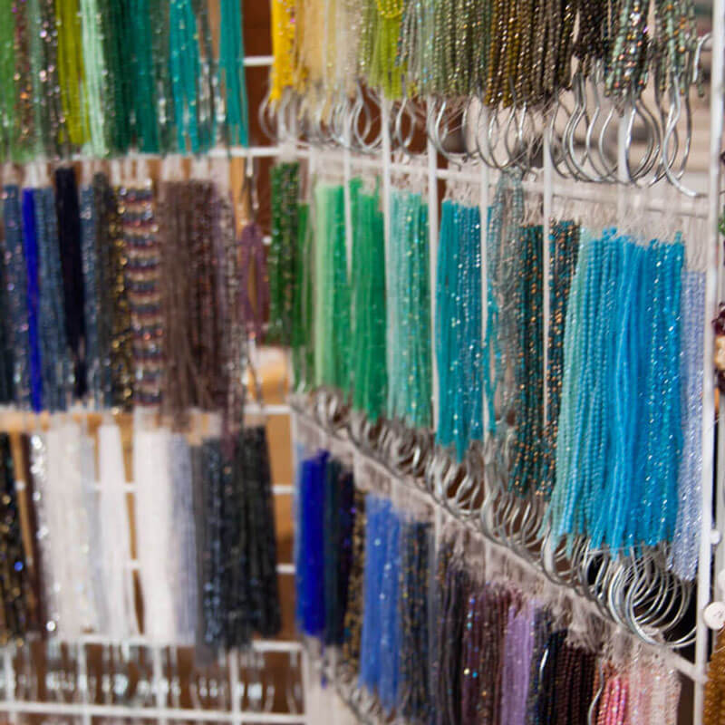 Faceted Strands of Beads for jewelry making