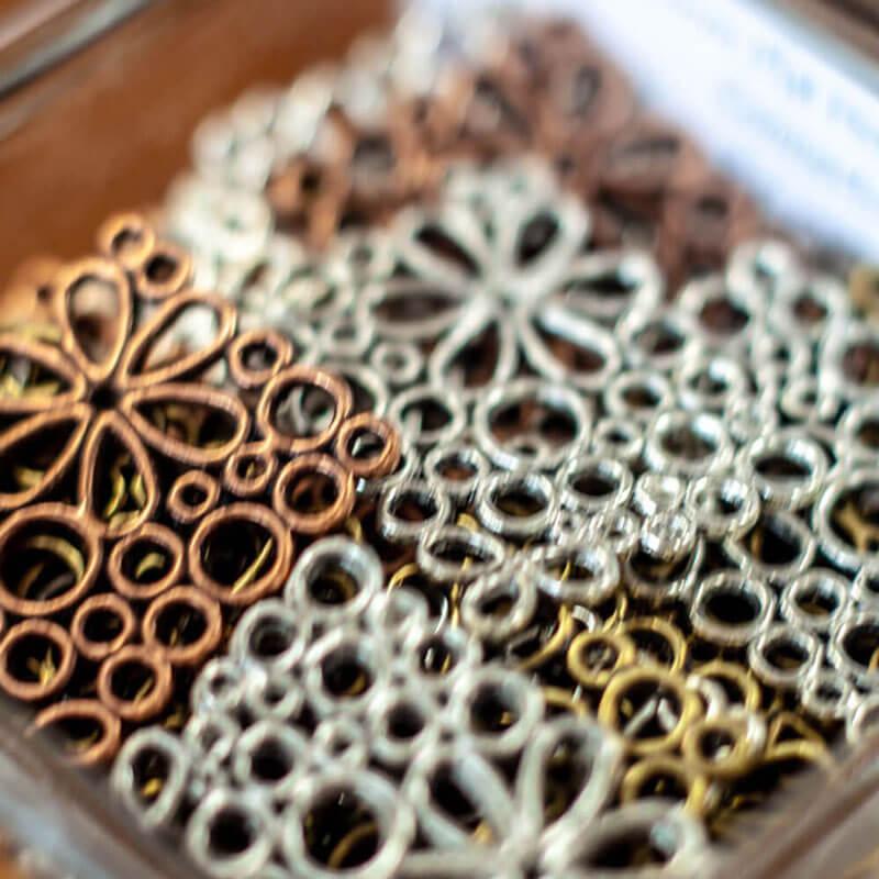 Metal Charms Close-up - Beading Supplies