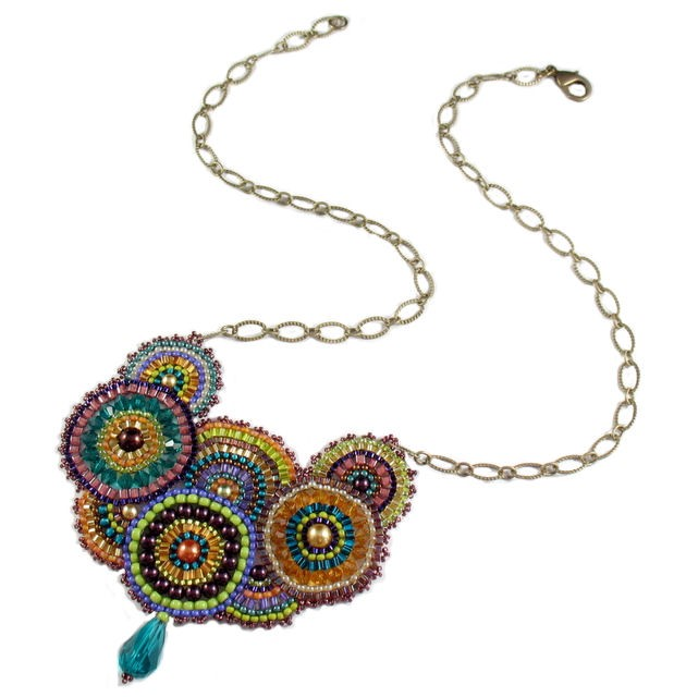 Enchanted Necklace Rainbow