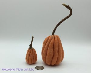 Felted Pumpkins in Wool event at Austin Bead Gallery