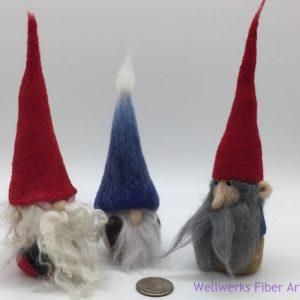 Santa Felted Gnomes