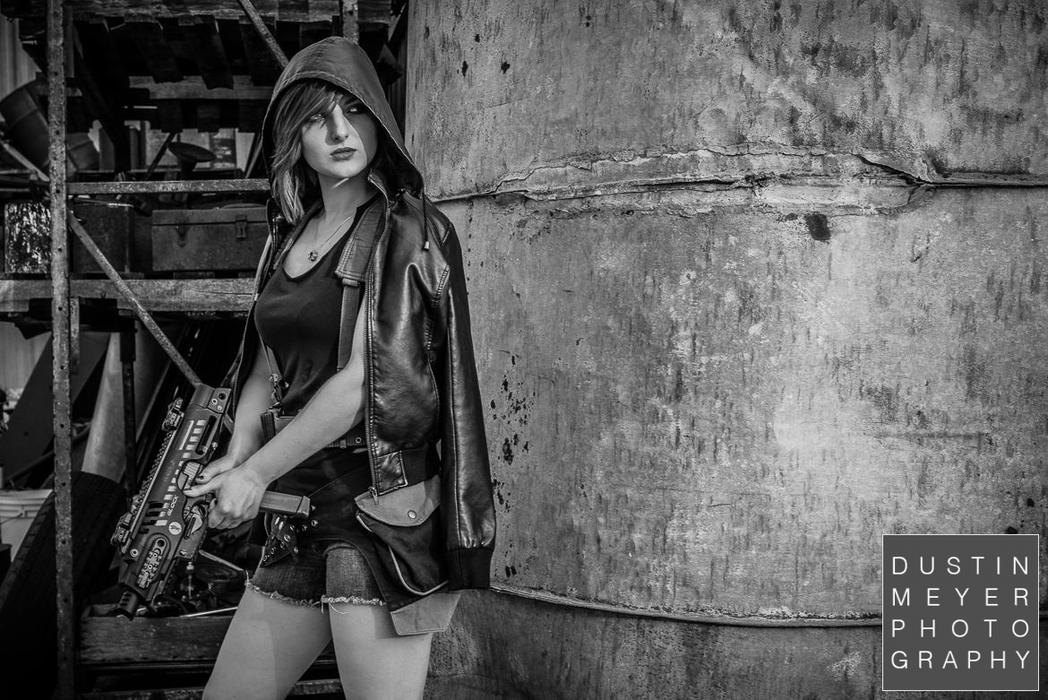 black and white editorial photography guns firearms