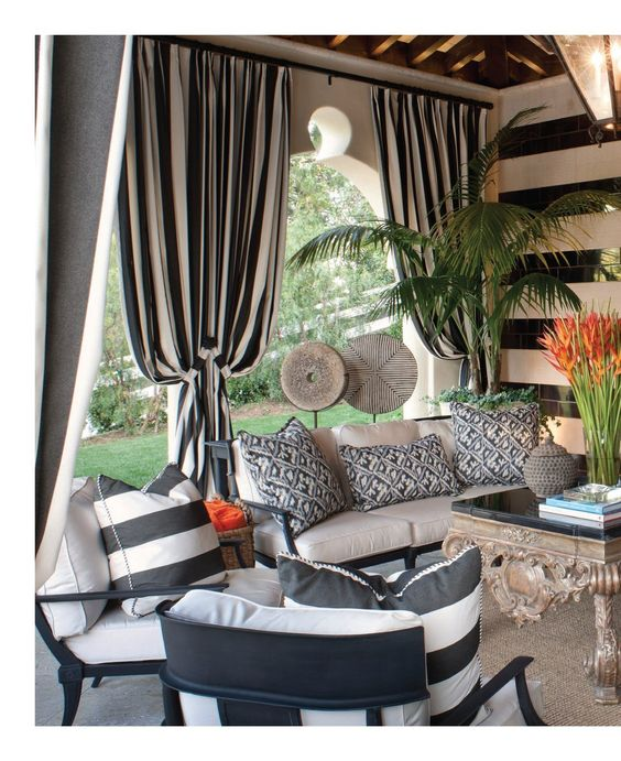 outdoor drapery ideas by the great
