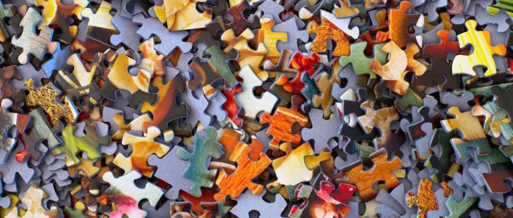 Puzzles are solved by focusing on what is missing from the whole, not the issues you have when searching!