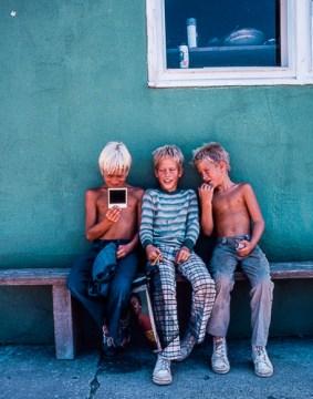 Three Boys and a Polaroid by Jann Alexander © 2013