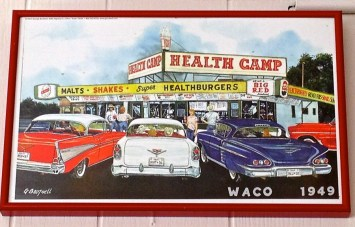 Health Camp in Waco Since 1949 by Jann Alexander © 2013