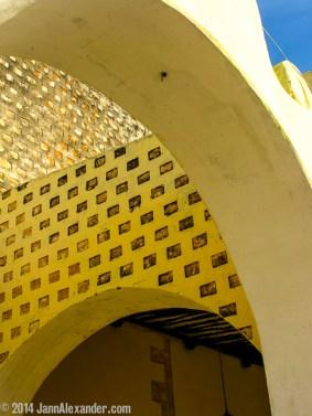 Textures Under the Arch by Jann Alexander ©2014
