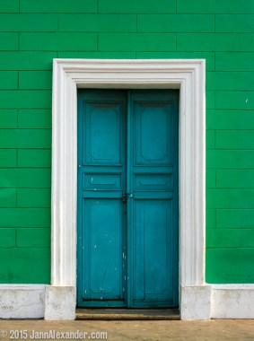 Blue Doors by Jann Alexander ©2015