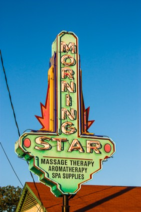 Vanishing Austin _ Morning Star at Evening by Jann Alexander ©2013