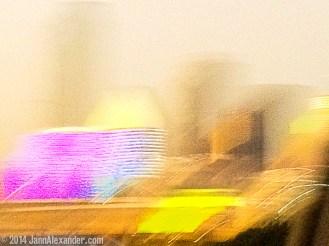 Dallas Skyline Abstract by Jann Alexander © 2014