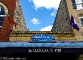 Shakespeare Speaks in Austin by Jann Alexander © 2014