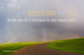 Sustenance for the Creative Spirit by Jann Alexander ©2015