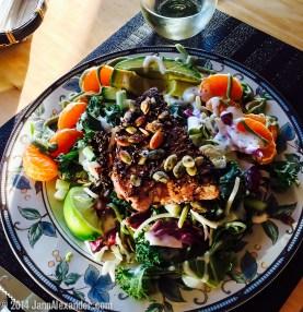 iSalmon Salad by Jann Alexander ©2014