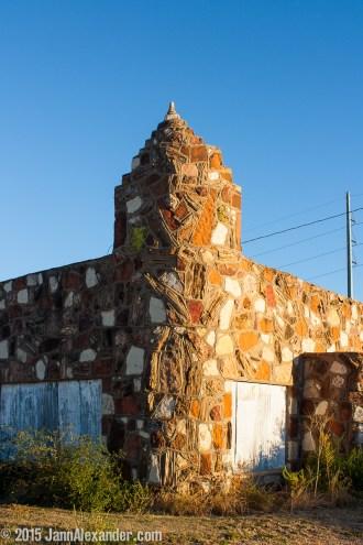 Tower of Stone, Shamrock, Texas by Jann Alexander ©2015