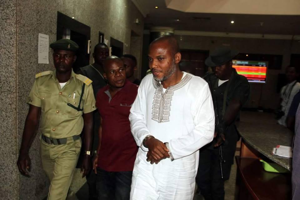 Nnamdi Kanu re-arrest