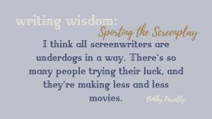 Sporting the Screenplay