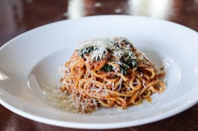 Spaghetti with Pomodoro