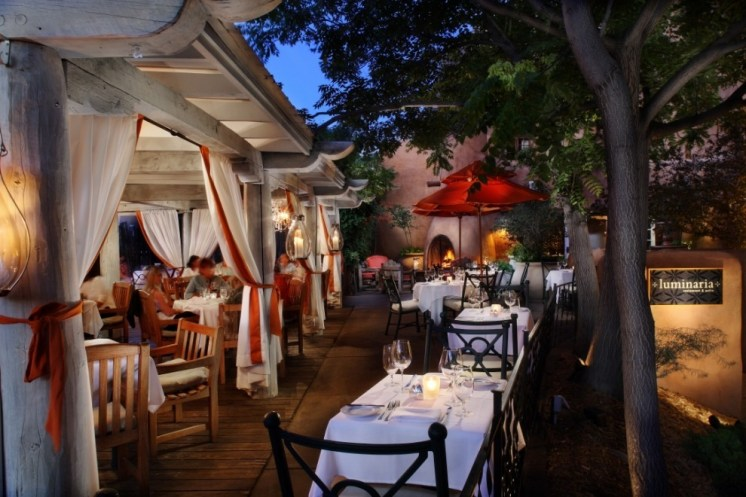 Luminaria Restaurant & Patio, photo courtesy Inn and Spa at Loretto