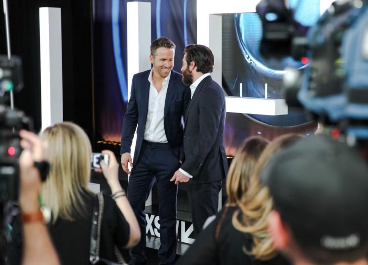Life SXSW Red Carpet - Ryan Reynolds and Jake Gyllenhaal