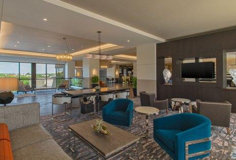Sheraton Georgetown Hotel lounge