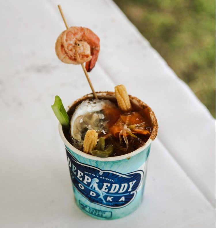 Austin Oyster Festival cocktail