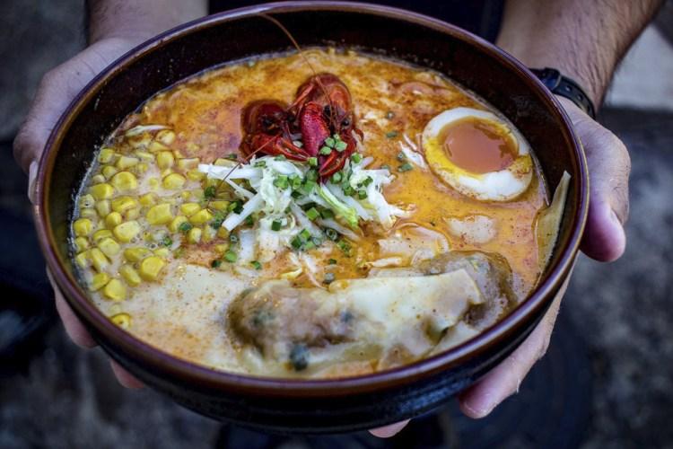 Ramen Tatsu-ya Crawfish