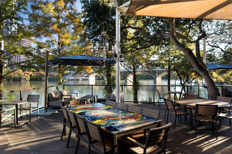 Marker 10 Patio - Hyatt Regency Austin