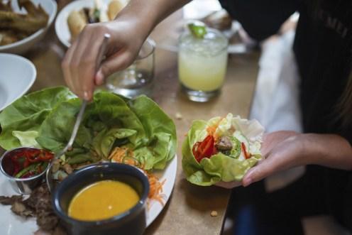 Native lettuce wrap