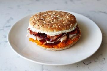 Sandwich Thins Thanksgiving