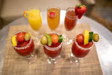 Brunch Cocktails - Stephen F. Austin Hotel