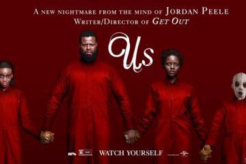 Us movie banner
