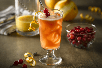 Cranberry Citrus Four Roses (1)