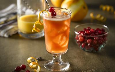 Cranberry Citrus Four Roses (1)