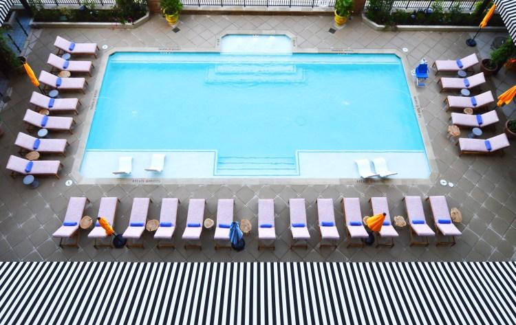 Hotel ZaZa Austin_Pool (aerial)