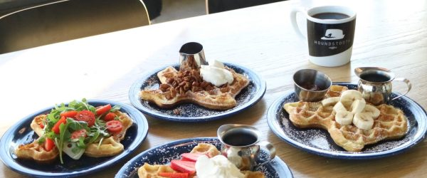 Houndstooth waffles