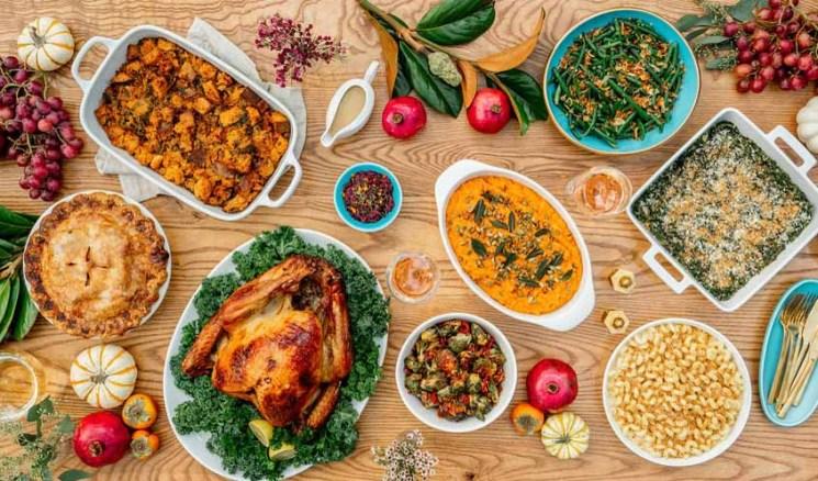 Fresa's - Thanksgiving Table