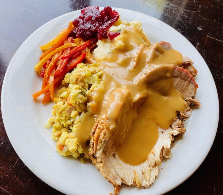 Thanksgiving plate ZTejas
