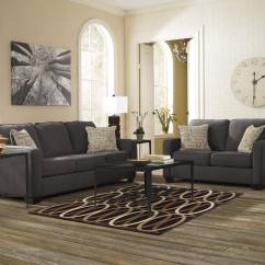 Ashley Alenya Quartz Sofa Reviews Distressed Leather Uk In Charcoal Austin 39s Furniture Depot