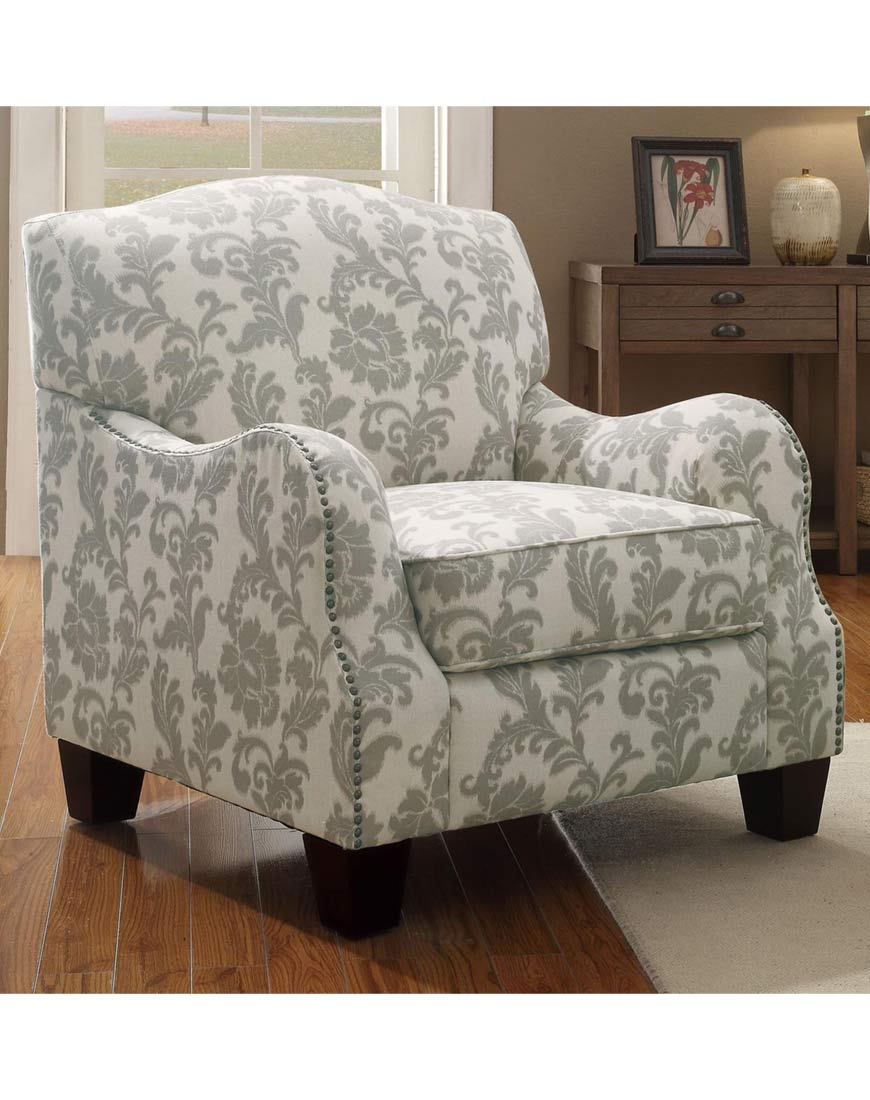 Coaster Accent Chair Coaster Traditional Cottage Styled Accent Chair