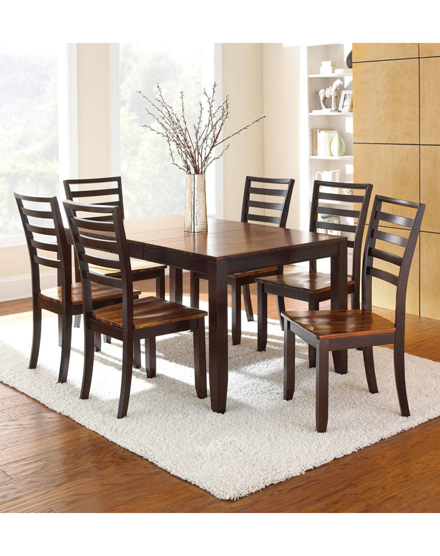 steve silver dining chairs plastic mat for office chair abaco 7pc set austin s furniture depot