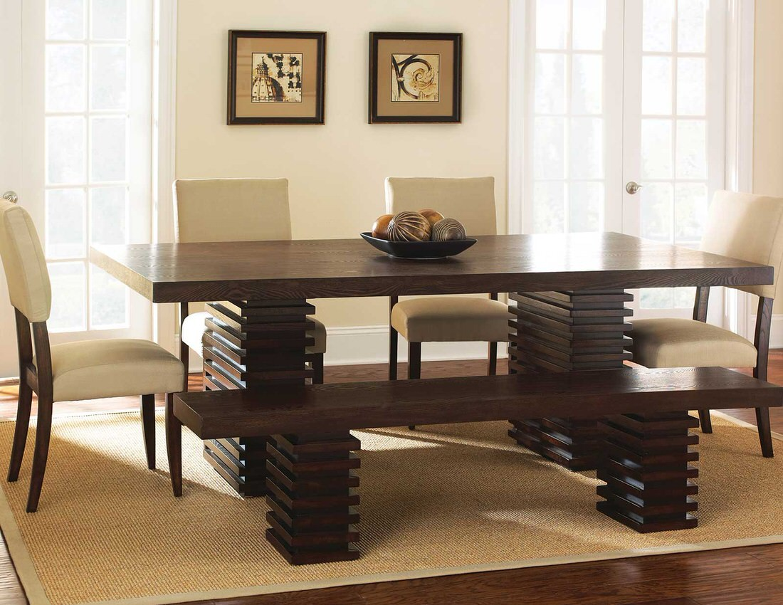 Steve Silver Briana 6pc Dining Set With Tiffany Chairs Austins Furniture Depot