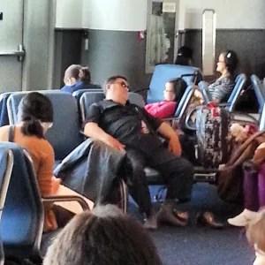 I think #psy is on my #flight.,