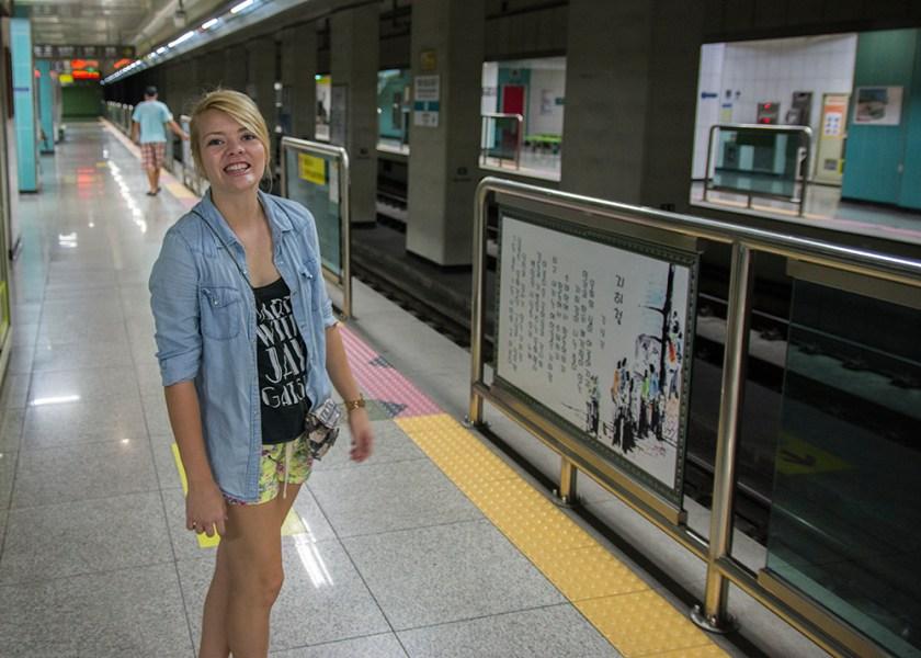 Subway with Nicole