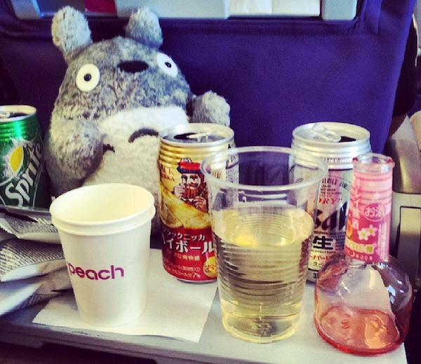 In-flight Booze